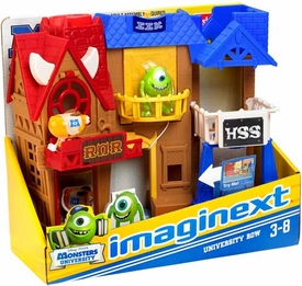 Disney / Pixar Monsters University Imaginext Playset University Row