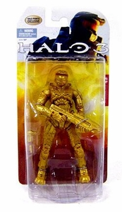 Halo 3 McFarlane Toys Exclusive Action Figure Metallic Gold Master Chief