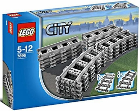 LEGO City Set #7896 Straight & Curved Rails