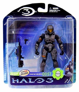 Halo 3 McFarlane Toys Series 2 Exclusive Action Figure STEEL ODST Spartan