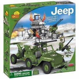 COBI Blocks Jeep #24301 Mountain Terrain