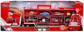 Disney / Pixar CARS Movie 10-Piece Playset Exclusive 1:48 Mack Die Cast Carrier Ultimate Gift Set