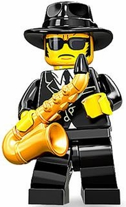 LEGO Minifigure Collection Series 11 LOOSE Mini Figure Jazz Musician