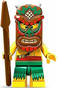 LEGO Minifigure Collection Series 11 LOOSE Mini Figure Tiki Isalnd Warrior