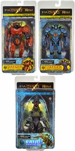 NECA Pacific Rim Series 1 Set of 3 Action Figures [Gipsy Danger, Crimson Typhoon & Knifehead]