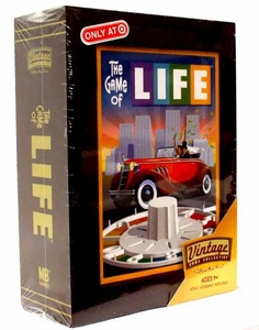 Parker Brothers Vintage Game Collection Exclusive Wooden Book Box The Game of Life