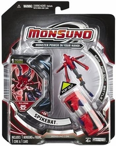 Monsuno Eklipse Single Pack #28 Spikebat [1 Figure, 1 Core & 1 Card]