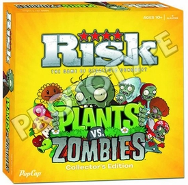 Risk Plants vs Zombies Edition Pre-Order ships August