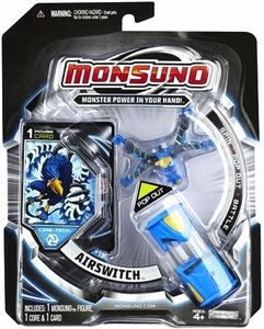 Monsuno Core-Tech Single Pack #19 Airswitch [1 Figure, 1 Core & 1 Card]