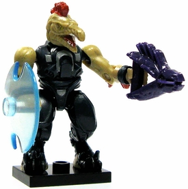 Halo Wars Mega Bloks LOOSE Mini Figure Covenant Jackal with Needler & Energy Shield