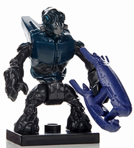 Halo Wars Mega Bloks LOOSE Mini Figure Covenant Special Ops Grunt with Energy Rifle [Series 7]