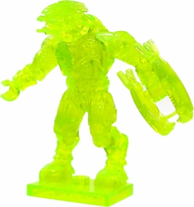 Halo Wars Mega Bloks LOOSE Mini Figure Covenant Trans Green Elite with Energy Rifle Ultra Rare Chase!