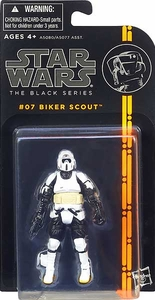 Star Wars Black 3.75 Inch Series 1 Action Figure Biker Scout Trooper [Episode VI]