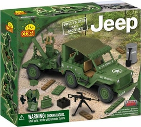 COBI Blocks Jeep #24180 Willy's M38 with Mortar