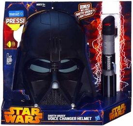 Star Wars  Roleplay Toy Set Voice Changer Darth Vader Helmet & Lightsaber Pre-Order ships March