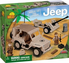 COBI Blocks Jeep #24181 Willy's M38 with Cannon