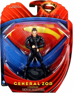 Man of Steel Movie Masters Action Figure General Zod In Shackles