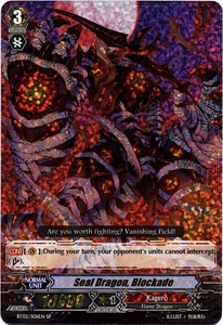 Cardfight Vanguard ENGLISH Onslaught of Dragon Souls Single Card SP Rare BT02-S06EN Seal Dragon Blockade