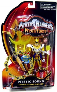 Power Rangers Mystic Force Sound Action Figure Yellow Power Ranger