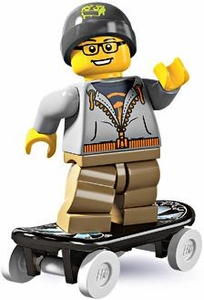 LEGO Minifigure Collection Series 4 LOOSE Mini Figure Street Skater