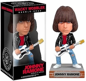Funko Ramones Wacky Wobbler Bobble Head Johnny Ramone