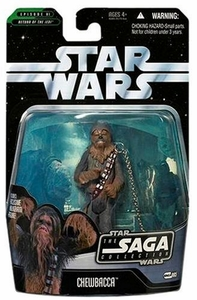 Star Wars Saga 2006 Basic Action Figure #05 Chewbacca [Boushh's Bounty]