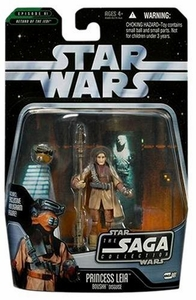 Star Wars Saga 2006 Basic Action Figure #01 Princess Leia [Boushh Disguise]