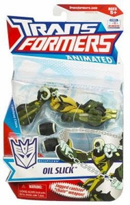 Transformers Animated Deluxe Figure Oil Slick