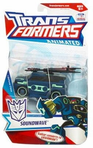 Transformers Animated Deluxe Figure Soundwave