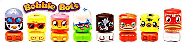 Moshi Monsters Bobble Bots