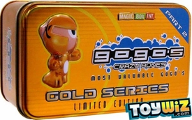 Crazy Bones Gogo's Gold Series 2 Limited Edition Tin Set