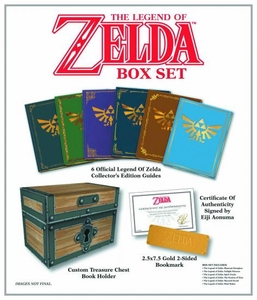 Legend of Zelda Collectors Edition Strategy Guide Box Set Pre-Order ships March