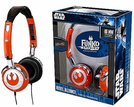 Funko Tronics Star Wars Fold Up Headphones Rebel Logo