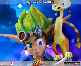 Jak & Daxter Gaming Heads Limited Edition 15 Inch Statue Jak & Daxter Pre-Order ships August