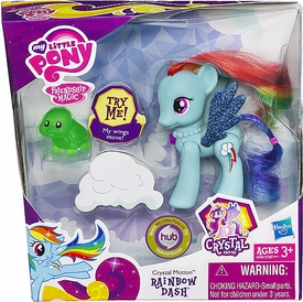My Little Pony Deluxe Figure Crystal Motion Rainbow Dash