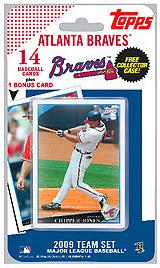 Topps MLB Baseball Cards 2009 Atlanta Braves 14 Card Team Set [Includes Bobby Cox Card] BLOWOUT SALE!