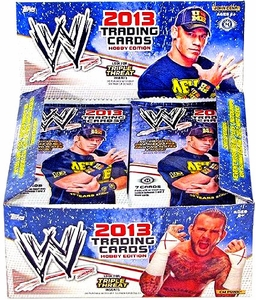Topps 2013 WWE Wrestling Trading Cards Hobby Box [24 Packs]