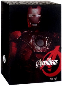 Avengers Hot Toys 1/6 Scale Collectible Figure Battle Damaged Iron Man Mark VII [Movie Promo Edition]