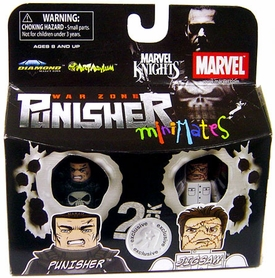 Marvel MiniMates Exclusive Mini Figure 2-Pack Punisher & Jigsaw