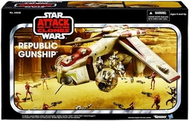 Star Wars 2013 Attack of the Clones Exclusive Vehicle Republic Gunship