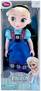 Disney Frozen Exclusive 16 Inch Toddler Doll Elsa Damaged Package, Mint Contents!