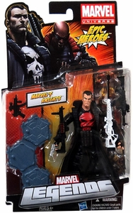 Marvel Legends 2012 Series 3 Action Figure Marvel's Knights [Punisher] [ Thunderbolts Red Skull on Shirt Variant]