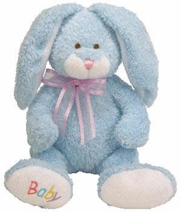 Ty Baby Soft Plush Bunny Hop Blue