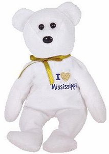 Ty Beanie Baby Hurricane Katrina Relief Charity I Love Mississippi the Bear