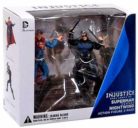 DC Injustice: Gods Among Us 3.75 Inch Action Figure 2-Pack Nightwing & Superman