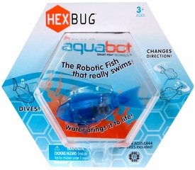 Hexbug Aquabot 3 Inch Electronic Pet Blue Fish