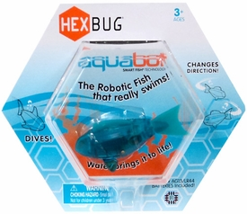 Hexbug Aquabot 3 Inch Electronic Pet Teal Fish