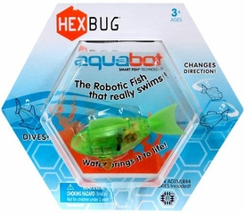 Hexbug Aquabot 3 Inch Electronic Pet Green Fish