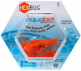 Hexbug Aquabot 3 Inch Electronic Pet Orange Fish