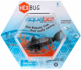 Hexbug Aquabot 3 Inch Electronic Pet Black Shark
